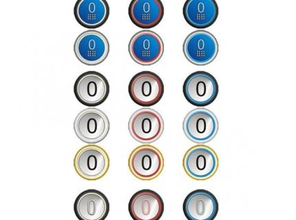 Grandezza e tipologie di pulsanti